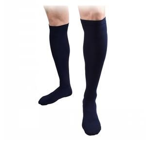 $24.99 6 Pack Compression Socks  - SOLD by Kicks For Gents - Men's Blood Circulation Socks - Slimming Stockings That Soothe Tired LegsComes in pack of 6 pairs all in same color or one in each color.