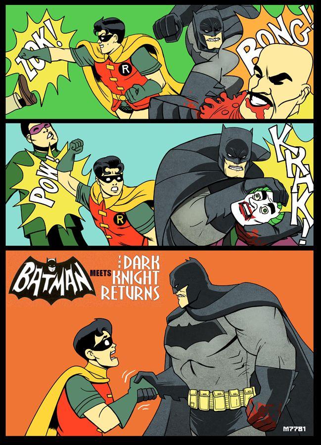Video's van Batman the dark knight returns cbr