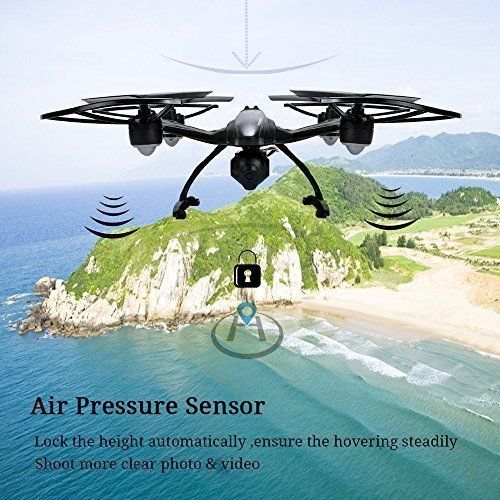NEW Quadcopter Drone 5.8G FPV w/ 2.0MP HD Camera & LCD Controller One Key Return #DAZHONG