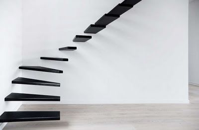 I probably shouldn't ever have a staircase like this. But I'd love to walk it just once.