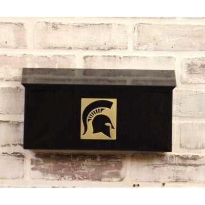 HensonMetalWorks NCAA Wall Mounted Mailbox NCAA Team: Michigan State University