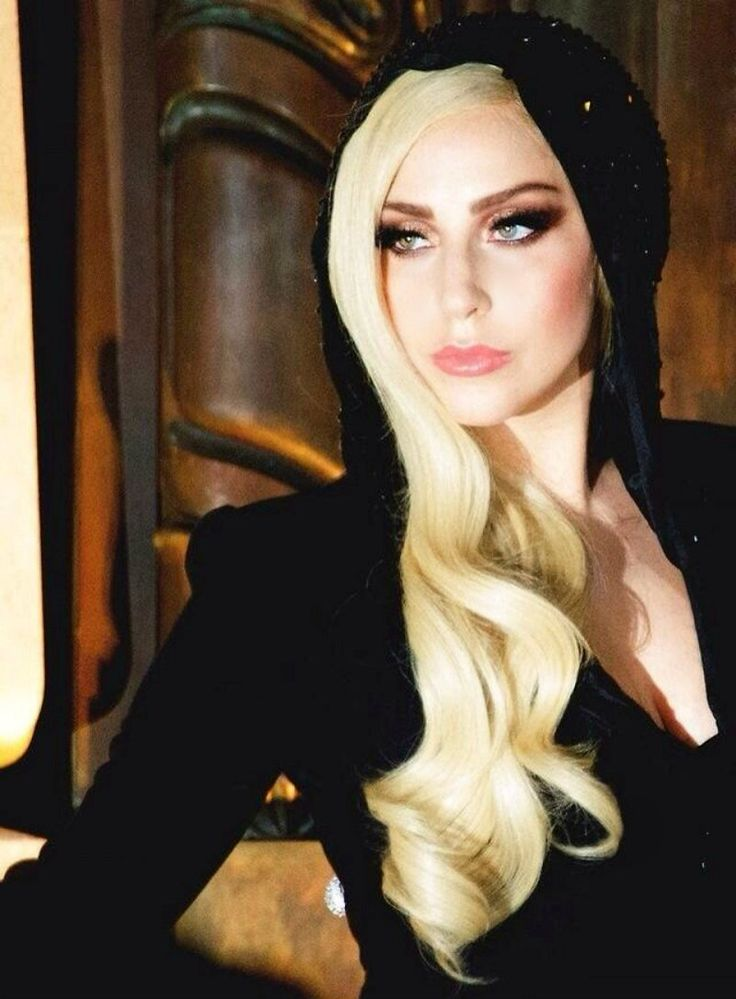 Lady Gaga, 2014 Versace Fashion Show. I want to be like Gaga when I grow up!! #YYAAAAASSSS