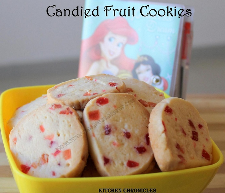 Candied Fruit Cookies  http://delightsofcooking.blogspot.com/2012/12/candied-fruit-cookies.html