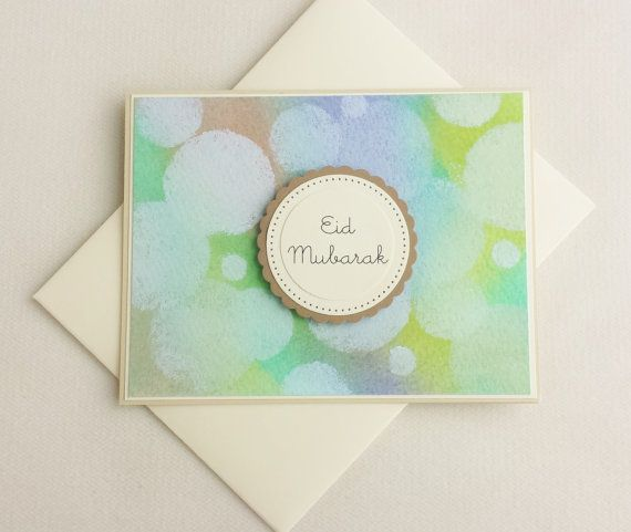 Check out this item in my Etsy shop https://www.etsy.com/listing/233968883/eid-mubarak-card-watercolor-card-ramadan