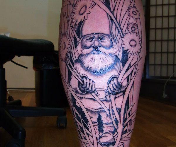 35 best matt wear images on pinterest tattoo colors for Garden gnome tattoo designs