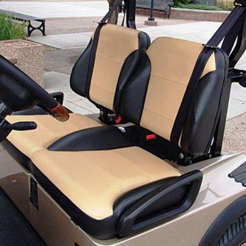 Ezgo Rxv Golf Cart Custom Two Toned Suite Bucket Seats