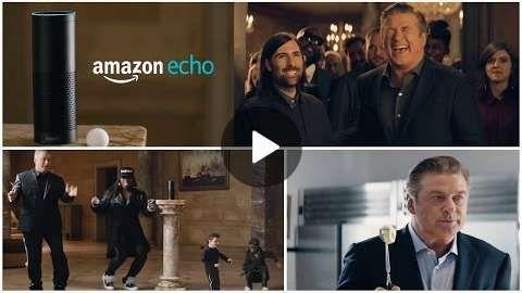 Alec Baldwin and Dan Marino Funny Amazon Echo Commercials