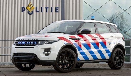 #Range Rover Evoque : Dutch Police #police #law enforcement