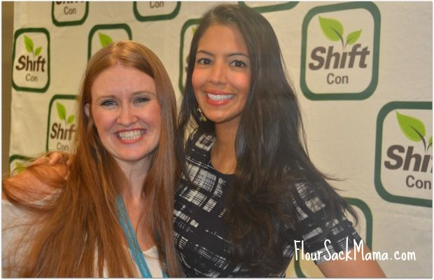 Conference founder Leah Segedia with Food Babe Vani Hari who spoke at the conference