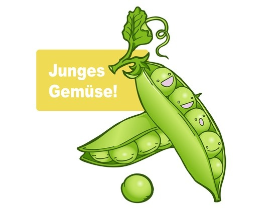 Junges Gemüse!