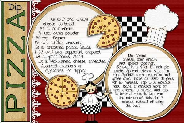 Pizza recipe book layout. I'm pinning this for the page layout.  I don't like the recipe.