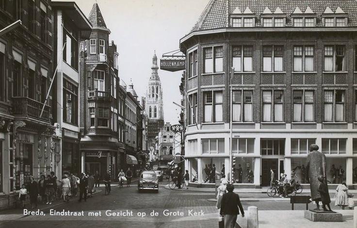 Breda 1967..Eindstraat