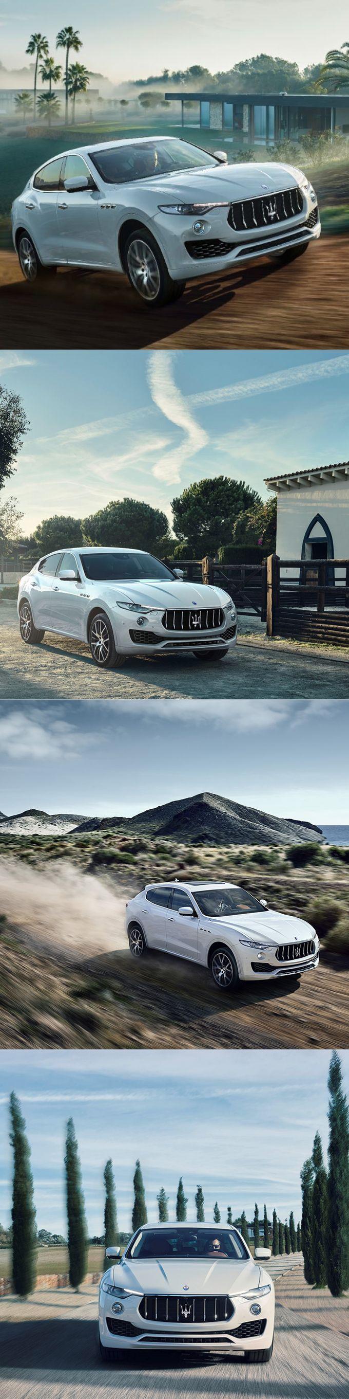 2017 Maserati Levante / white / Italy / SUV / 16-100