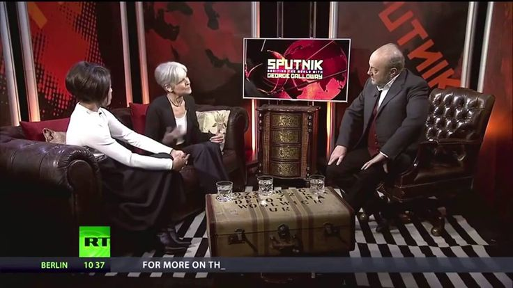 George Galloway Interview with Jill Stein Green Party Candidate for US President - YouTube