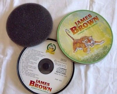 JAMES BROWN - FUNKIN' IN THE JUNGLE - CD COLLECTION - METAL BOX VINTAGE (A47)