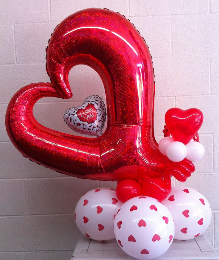 Best valentines day balloon decorations images on