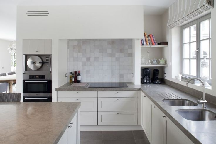 Cuisine Eggo Gris Soie : 1000+ images about alison s kitchen on Pinterest  Interieur, Belgian