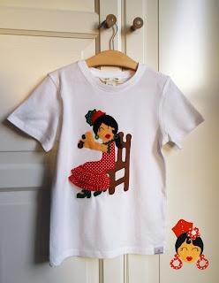 www.pikapic.es Camisetas gitana sentada