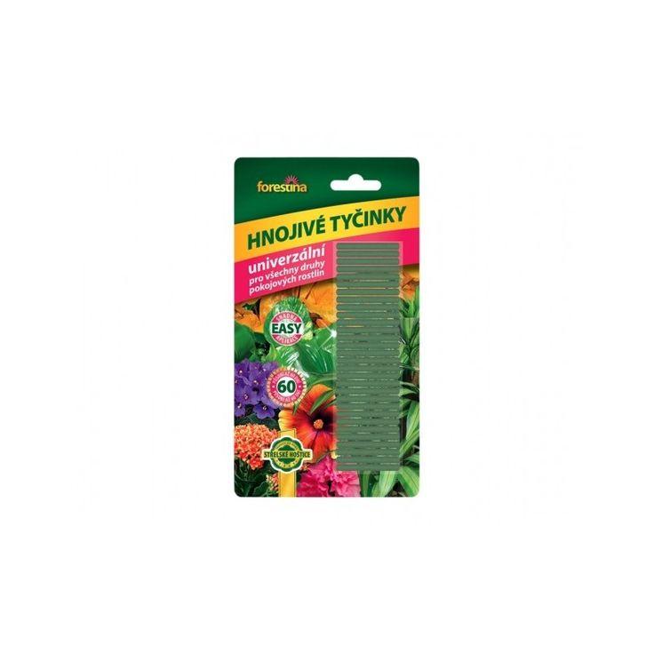 Tyčinkové hnojivo Forestina - univerzálne hnojivo pre izbové rastliny - 30 ks