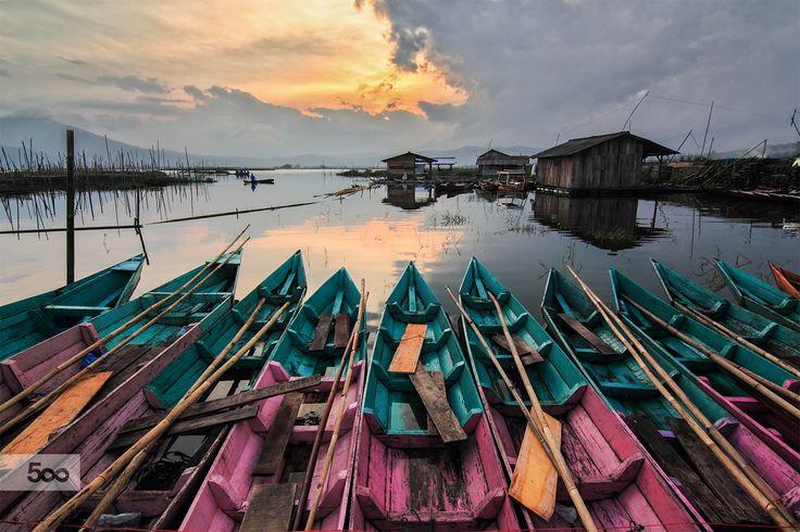 Photograph We Enjoy the Sunset by Franciscus Satriya Wicaksana on 500px