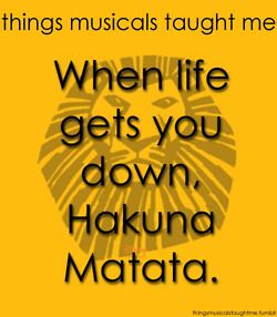 Lion King taught me...