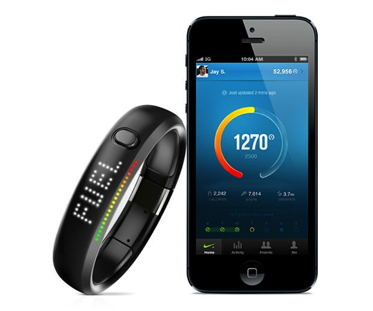 Fuelband is a very intuitive fitness tracker that will never let you down. You can set daily targets and the Fuelband will be with you every step or leap of the way. It does have an iOS app that allows you to sync up and customise your personal settings as well as allowing you to compete with your friends and rivals alike.