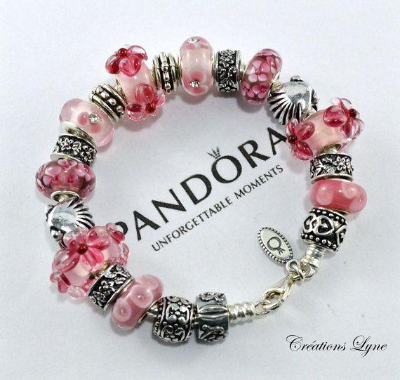 Authentique Bracelet Pandora Argent Sterling 925 Par