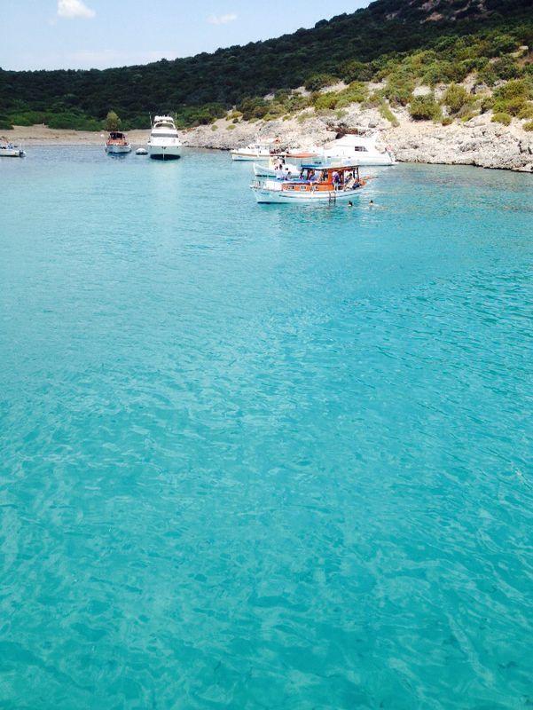 Beautiful turquoise-Bodrum