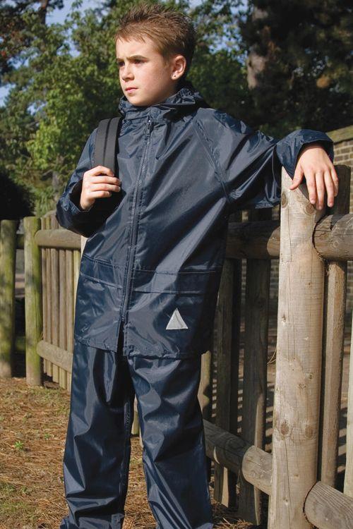 Costum de ploaie copii Result din 100% poliester 190T StormDri 2000
