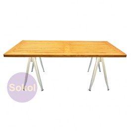 Replica Tolix Industrial Y Trestle Table