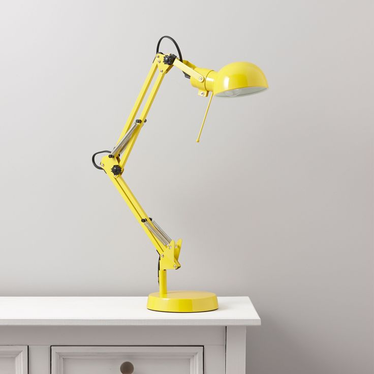 Tutti Yellow Desk Lamp | Departments | DIY at B