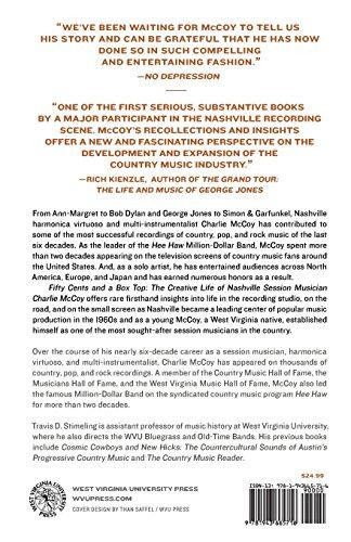 Fifty Cents and a Box Top: The Creative Life of Nashville Session Musician Charlie McCoy (Sounding A