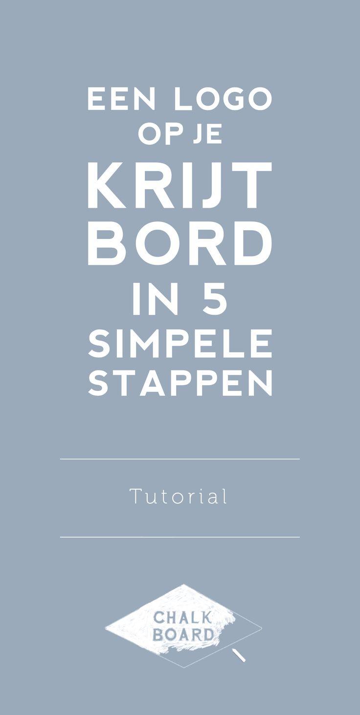 Een logo op je krijtbord in 5 simpele stappen - Chalkboard Blog Tutorials en Tips