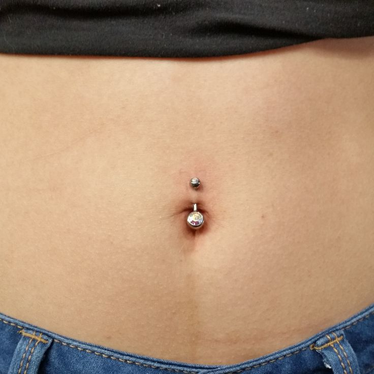 Belly Button Piercing done by Jake Faldet at Firehouse Tattoo in Stoughton WI  #Piercing #bellybuttonpiercing #navelpiercing