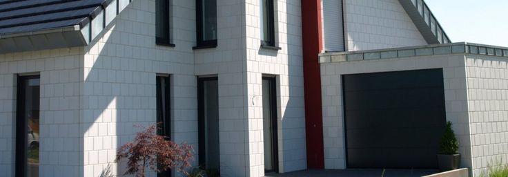 Emsländer Baustoffwerke GmbH & Co. KG | Produkte | Der Weiße Emsländer Quarzverblender | Emsländer - Quarzverblender | Emsländer - Design