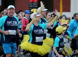 Participants in this year's HBF Run For A Reason in Perth today, Sun'. Buy or browse all images at wespix.com.au. PICTURE: NIC ELLIS   THE WEST AUSTRALIAN. TWA-0045150 © WestPix