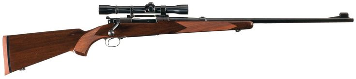 Pre-64 Winchester Model 70 Bolt Action Rifle in 270 Winchester with Scope