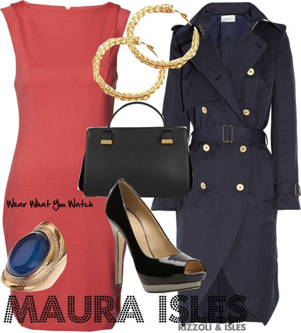 Sasha Alexander as Maura Isles - Click here to purchase items from the set above.