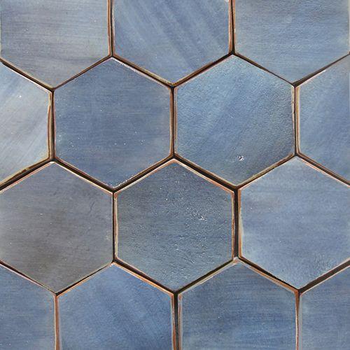 Hex Shape tiles Pinterest