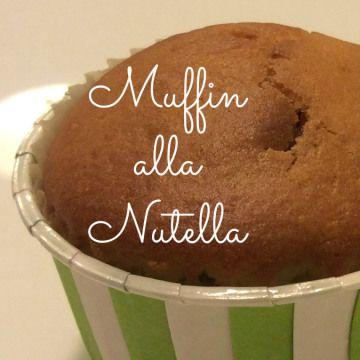 muffin alla nutella: ricette