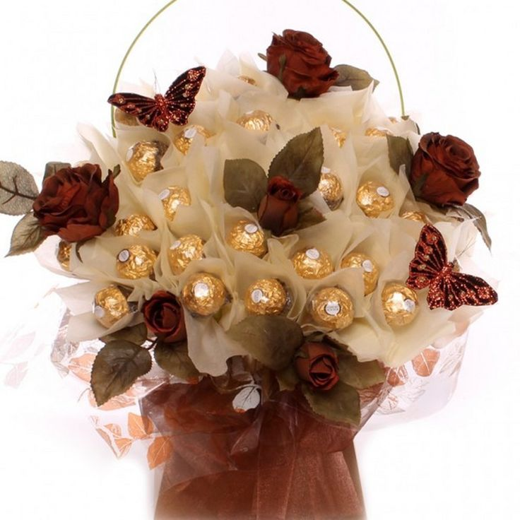 Sweet Sentiment Candy Bouquet