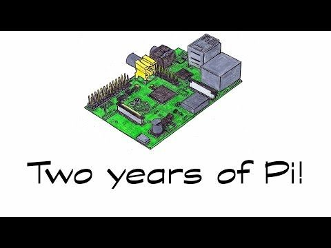 Two years of Pi! - YouTube