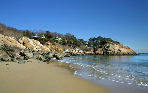 Singing Beach in Massachusetts literally sings (well, squeaks) when you walk on the sand