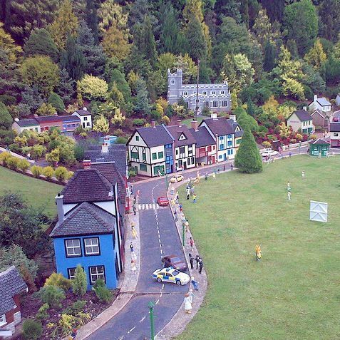 We went here on holiday. Babbacombe Model Village - one of my clearest childhood holiday memories.