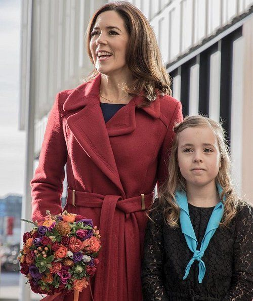 Princess Mary attended Children's Day 2017 at UN City Campus in Copenhagen, Nov.20, 2017