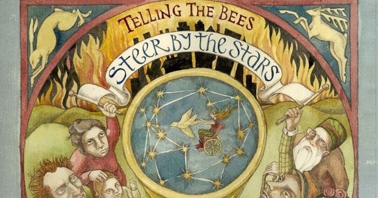 The latest offering from Telling the Bees sees them performing with an expanded line-up and what is a record full of constant, impressive surprises. Its striking cover art is once more the work of Rima Staines, whose eerie, timeless, pagan flourishes give some hint as to the musical content.