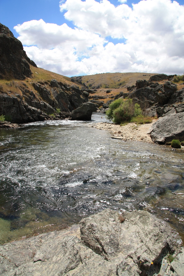 Nevis River, Central Otago, New Zealand