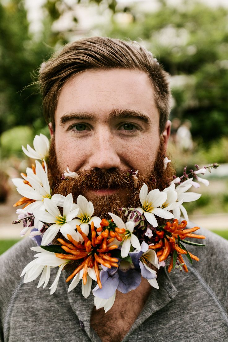 chrisbrinleejr:  Yours, beardly. Photo by Daniel Bruce Lee.  Ginger beards FTW. Fuck Yeah Flower Beards!
