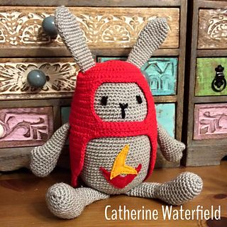 Hoppity Voosh! (Bing Bunny) by #CatherineWaterfield (free pattern on Ravelry)