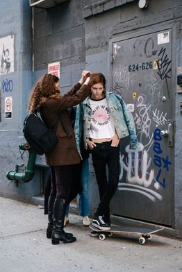 A BTS look at our Sk8-Hi shoot with the Vans Girl of all Vans Girls, Natalie Westling.